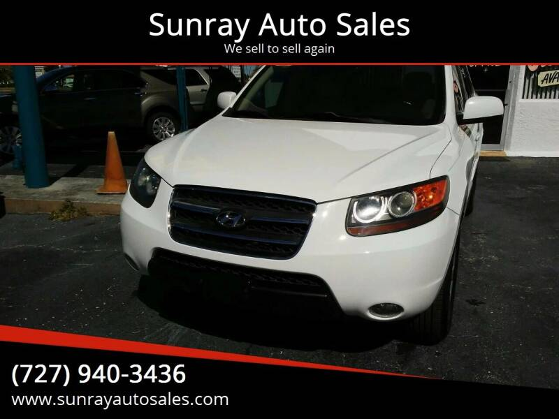2007 Hyundai Santa Fe for sale at Sunray Auto Sales Inc. in Holiday FL