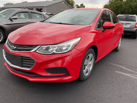 2017 Chevrolet Cruze for sale at Blake Hollenbeck Auto Sales in Greenville MI