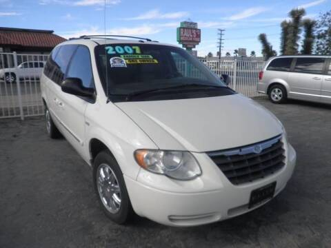 2007 Chrysler Town and Country for sale at ELITE MOTORS in Victorville CA