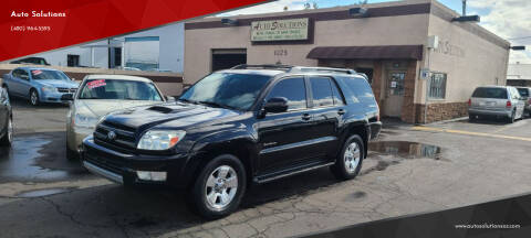 2004 Toyota 4Runner for sale at Auto Solutions in Mesa AZ