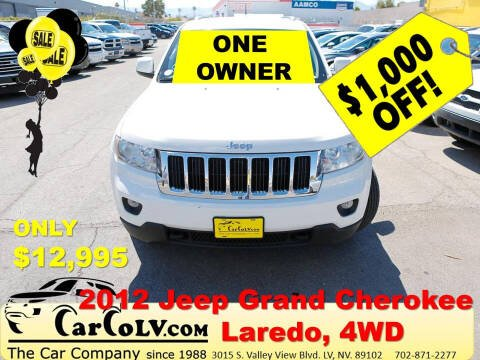 2012 Jeep Grand Cherokee for sale at The Car Company in Las Vegas NV
