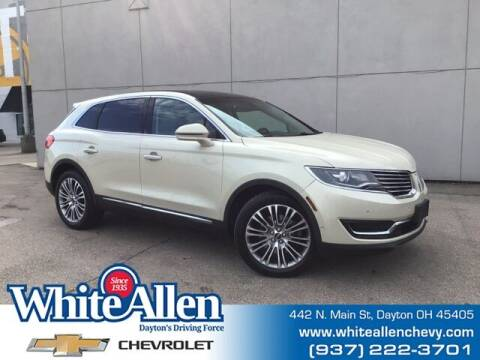 2016 Lincoln MKX for sale at WHITE-ALLEN CHEVROLET in Dayton OH