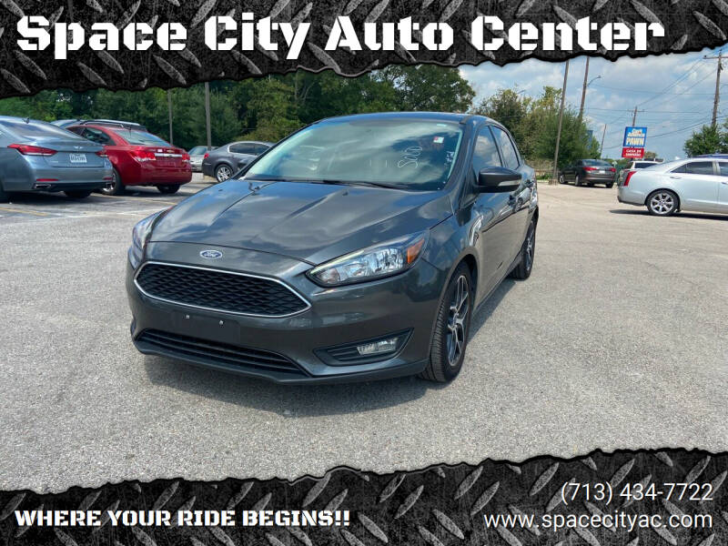 2018 Ford Focus for sale at Space City Auto Center in Houston TX