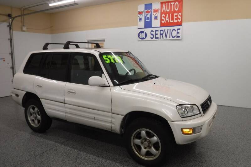 2000 Toyota RAV4 for sale at 777 Auto Sales and Service in Tacoma WA