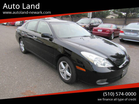 2004 Lexus ES 330 for sale at Auto Land in Newark CA