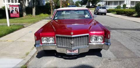 1970 Cadillac DeVille for sale at Motor City in Roxbury MA