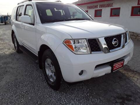 2006 Nissan Pathfinder for sale at Sarpy County Motors in Springfield NE