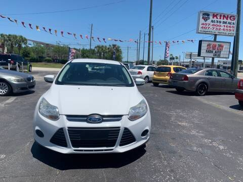2013 Ford Focus for sale at King Auto Deals in Longwood FL