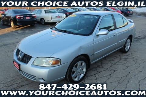 2006 Nissan Sentra for sale at Your Choice Autos - Elgin in Elgin IL