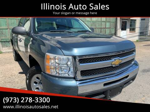 2010 Chevrolet Silverado 1500 for sale at Illinois Auto Sales in Paterson NJ