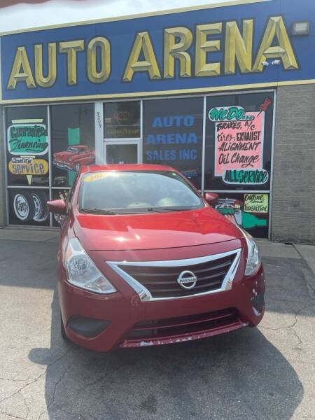 2017 Nissan Versa for sale at Auto Arena in Fairfield OH