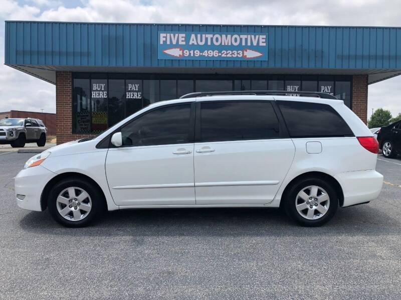 2010 Toyota Sienna for sale at Five Automotive in Louisburg NC