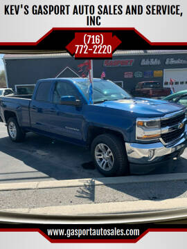 2016 Chevrolet Silverado 1500 for sale at KEV'S GASPORT AUTO SALES AND SERVICE, INC in Gasport NY