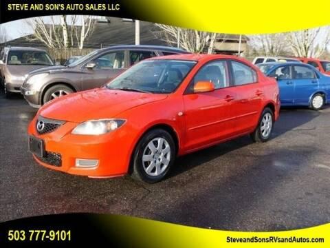 2007 Mazda MAZDA3 for sale at Steve & Sons Auto Sales in Happy Valley OR