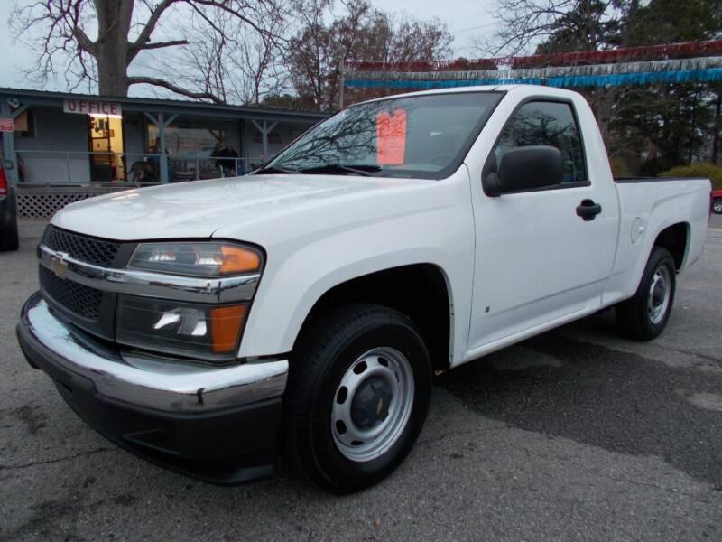 2007 Chevrolet Colorado for sale at Culpepper Auto Sales in Cullman AL