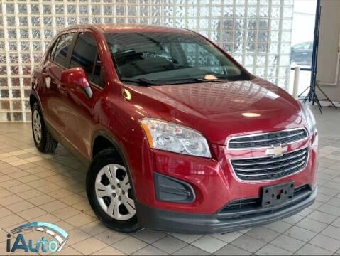 2015 Chevrolet Trax for sale at iAuto in Cincinnati OH