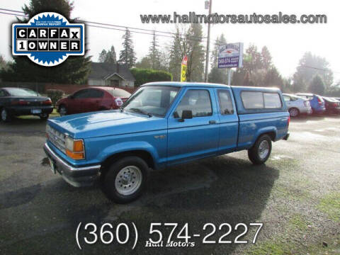 1992 Ford Ranger for sale at Hall Motors LLC in Vancouver WA