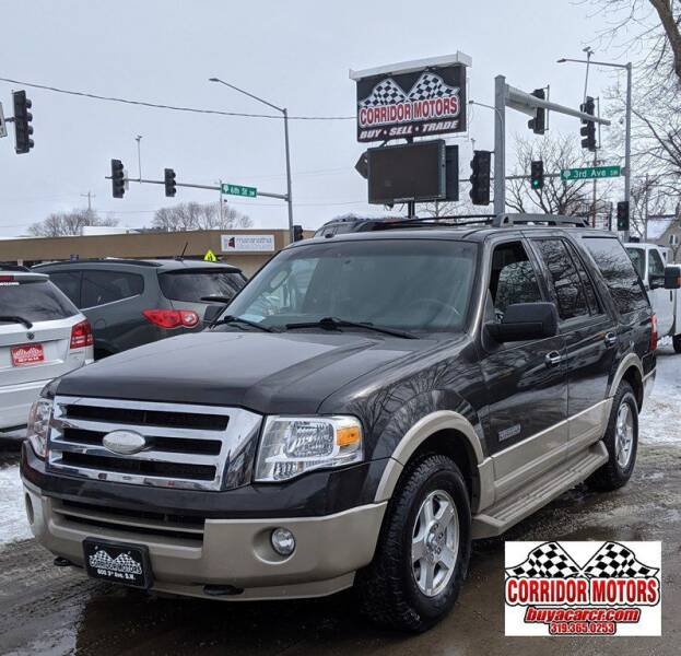2007 Ford Expedition for sale at Corridor Motors in Cedar Rapids IA