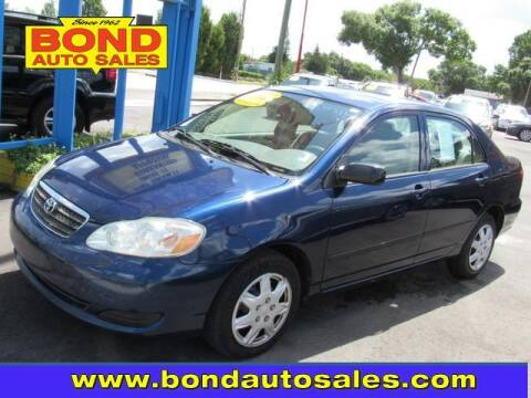 2006 Toyota Corolla for sale at Bond Auto Sales in St Petersburg FL