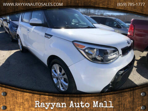 2016 Kia Soul for sale at Rayyan Auto Mall in Lexington KY