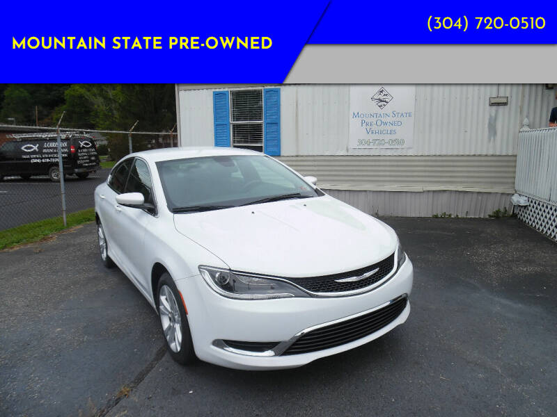 2017 Chrysler 200 for sale at Mountain State Pre-owned in Nitro WV