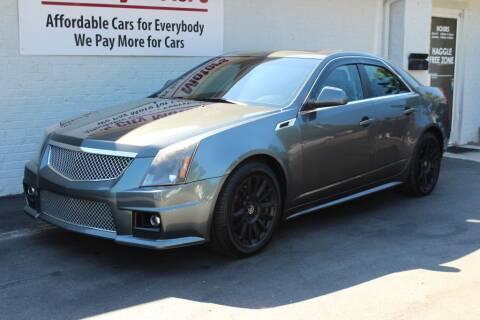 2012 Cadillac CTS for sale at Oak City Motors in Garner NC