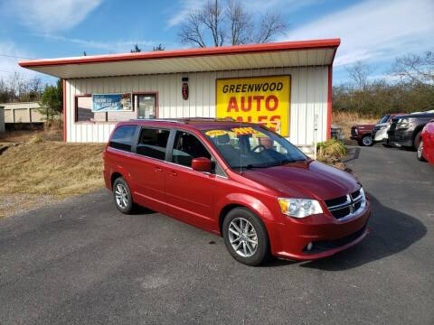 2015 Dodge Grand Caravan for sale at Greenwood Auto Sales in Greenwood AR