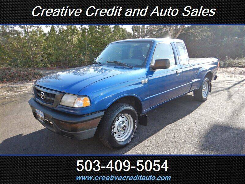 2007 Mazda B-Series Truck for sale at Creative Credit & Auto Sales in Salem OR