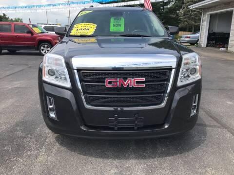 2015 GMC Terrain for sale at Tonys Auto Sales Inc in Wheatfield IN