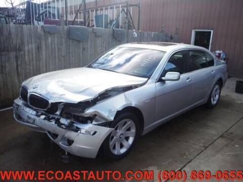2006 BMW 7 Series for sale at East Coast Auto Source Inc. in Bedford VA