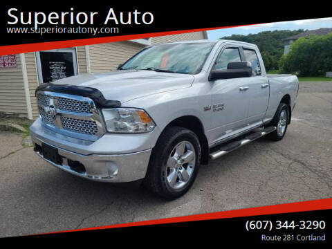 2014 RAM Ram Pickup 1500 for sale at Superior Auto in Cortland NY