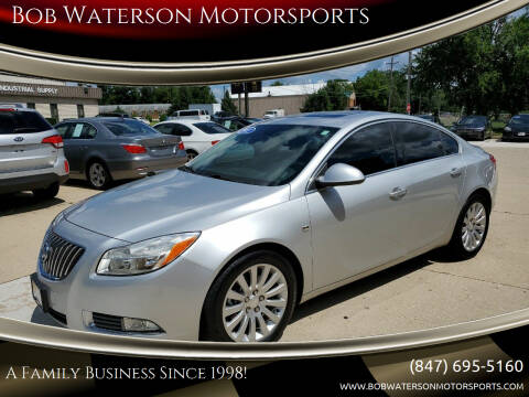 2011 Buick Regal for sale at Bob Waterson Motorsports in South Elgin IL