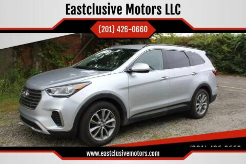 2017 Hyundai Santa Fe for sale at Eastclusive Motors LLC in Hasbrouck Heights NJ