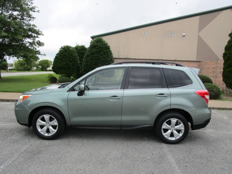 2015 Subaru Forester for sale at JON DELLINGER AUTOMOTIVE in Springdale AR
