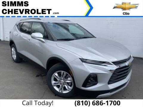 2021 Chevrolet Blazer for sale at Aaron Adams @ Simms Chevrolet in Clio MI