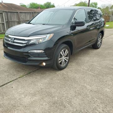 2017 Honda Pilot for sale at MOTORSPORTS IMPORTS in Houston TX