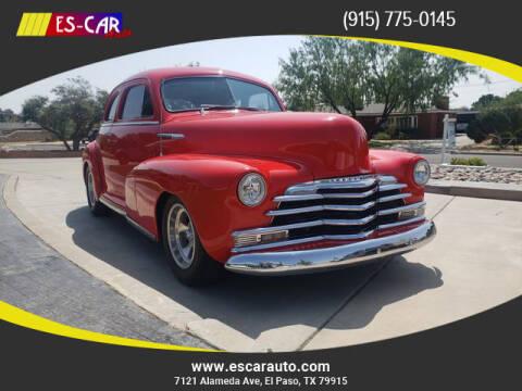 1948 Chevrolet Fleetmaster for sale at Escar Auto in El Paso TX