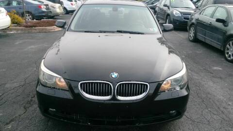 2006 BMW 5 Series for sale at Boardman Auto Mall in Boardman OH