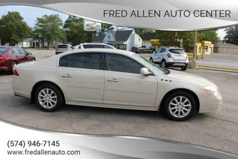 2011 Buick Lucerne for sale at Fred Allen Auto Center in Winamac IN