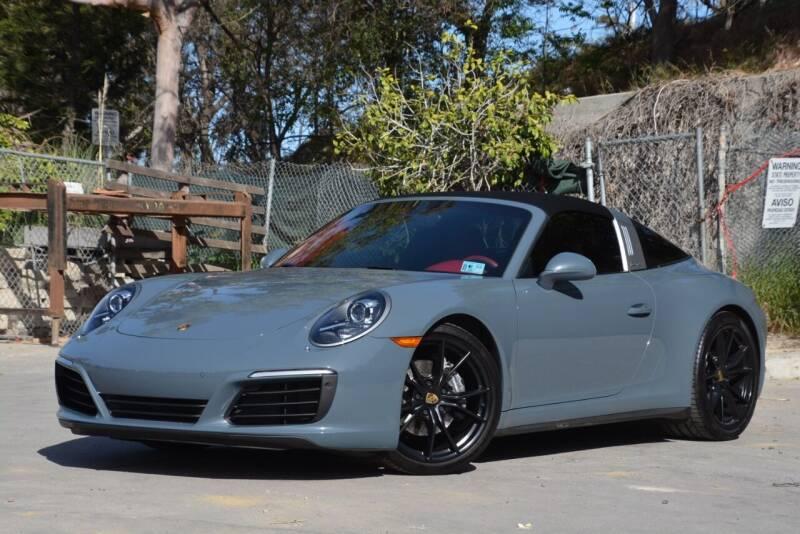 2017 Porsche 911 for sale at Milpas Motors in Santa Barbara CA