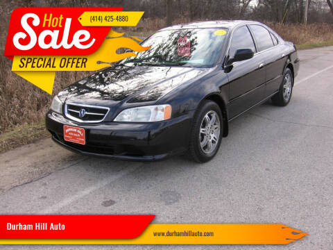 2000 Acura TL for sale at Durham Hill Auto in Muskego WI