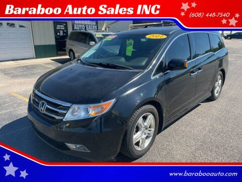 2011 Honda Odyssey for sale at Baraboo Auto Sales INC in Baraboo WI