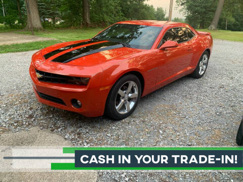 2010 Chevrolet Camaro for sale at SAVORS AUTO CONNECTION LLC in East Liverpool OH