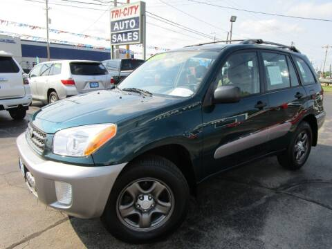 2003 Toyota RAV4 for sale at TRI CITY AUTO SALES LLC in Menasha WI