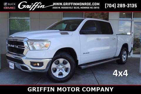 2019 RAM Ram Pickup 1500 for sale at Griffin Buick GMC in Monroe NC