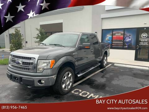 2013 Ford F-150 for sale at Bay City Autosales in Tampa FL