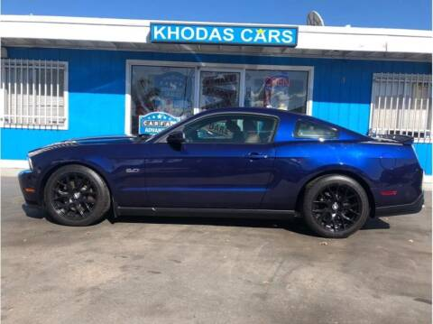 2012 Ford Mustang for sale at Khodas Cars in Gilroy CA