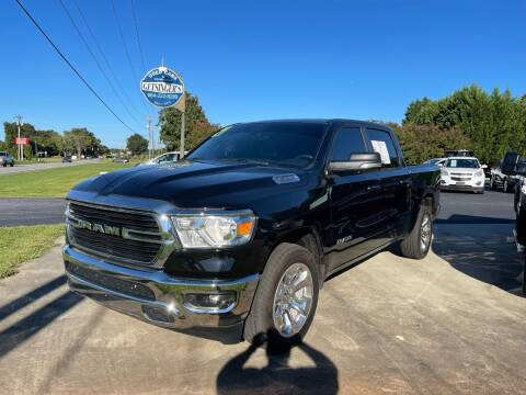 2021 RAM Ram Pickup 1500 for sale at Getsinger's Used Cars in Anderson SC