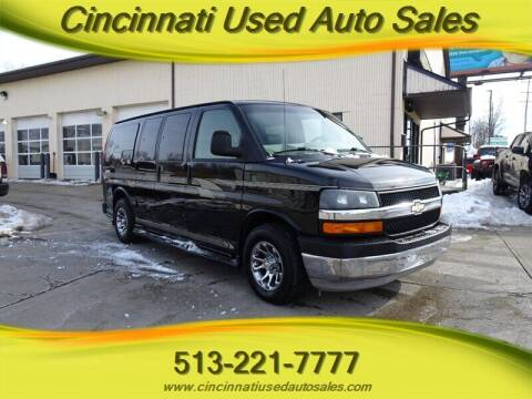 2005 Chevrolet Express Cargo for sale at Cincinnati Used Auto Sales in Cincinnati OH