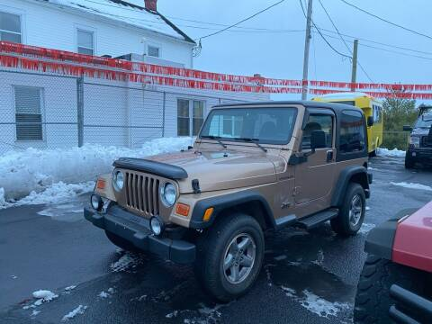 2000 Jeep Wrangler for sale at FIESTA MOTORS in Hagerstown MD